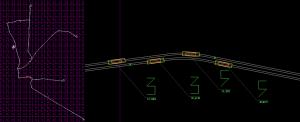 Elbląg 3d - ruch tramwajów